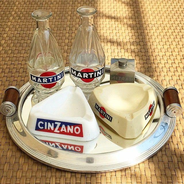 Bordeaux brocante haul #bordeaux #vintagebargear #martini #france #italy