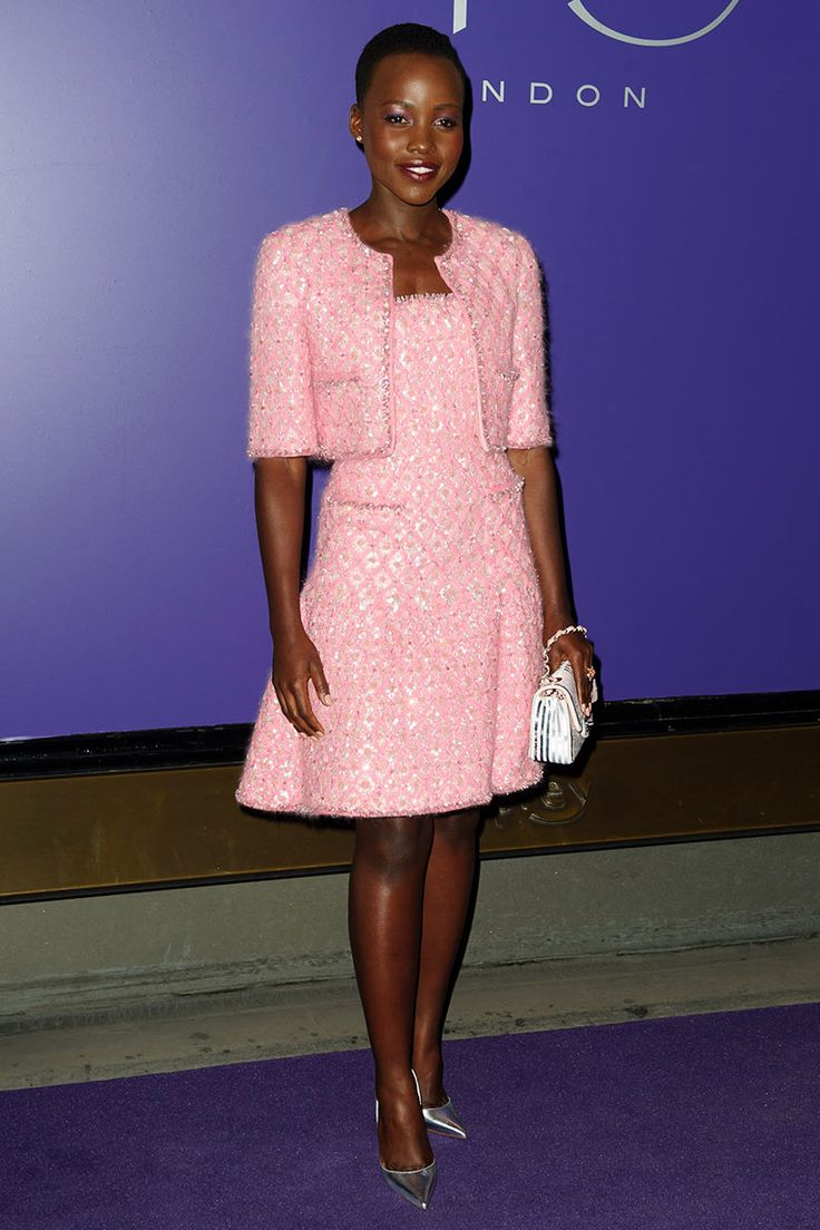 Meagan Good Hot Pink Prom Dress at The Jumping The Broom Premiere ...