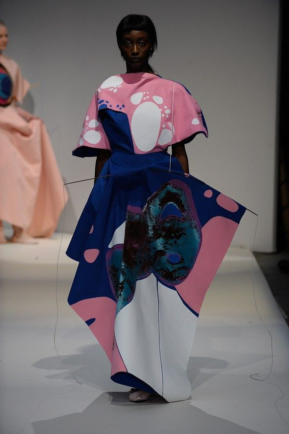Catwalk photos and all the looks from LCF BA Autumn/Winter 2015-16 Ready-To-Wear London Fashion Week