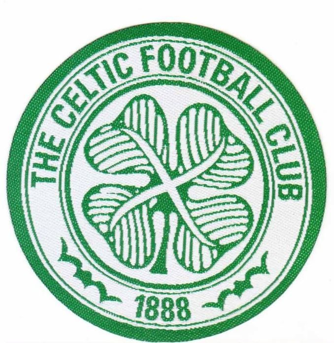 kiTki Celtic F.C. soccer football team iron-on embroidered patch emblem applique