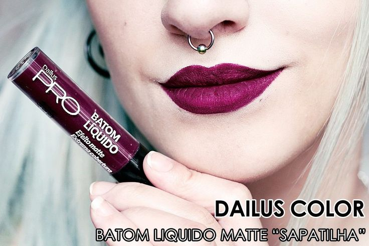 Batom Dailus - Sapatilha