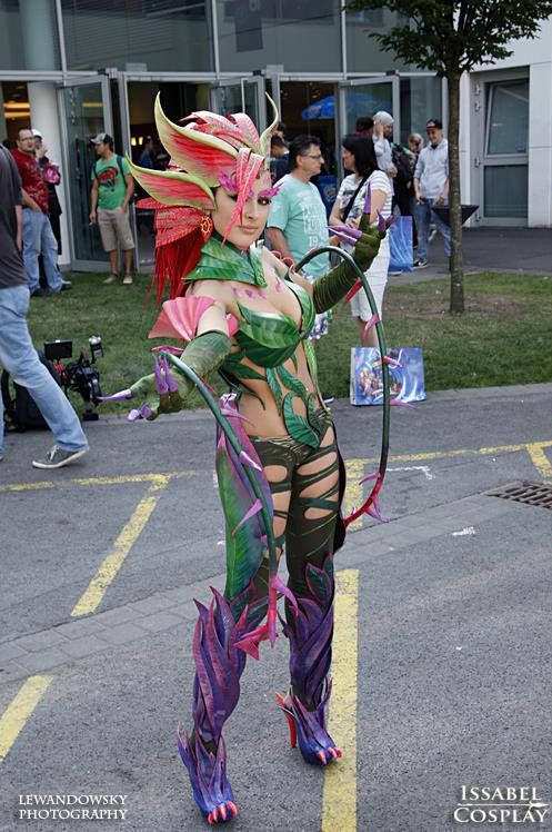 Zyra cosplay  Facebook - Isabelle Cosplay