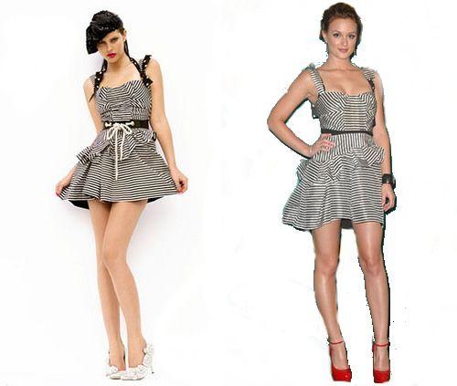 Bu yaz puantiyeli elbise ve ayakabılar gibi çizgili, verev çizgili elbise, etek ve bikinilerde çok moda.    Peki çizgili elbise ya da etek nasıl giyilir, kimler nasıl seçim yapmalıdır?    Öncelikle çizgili bir etek ya da bluz seçtiyseniz, bir diğer parçanın düz olmasına dikkat edin. Tamamiyle çizgiliyi kullanmak, her vücutta düzgün durmaz. Seçtiğiniz çizgili kıyafetin bedeninize uyuması gerekir.    Çok kalın çizgili seçerseniz, sizi kilolu gösterir. Özellikle enine çizgili ise.