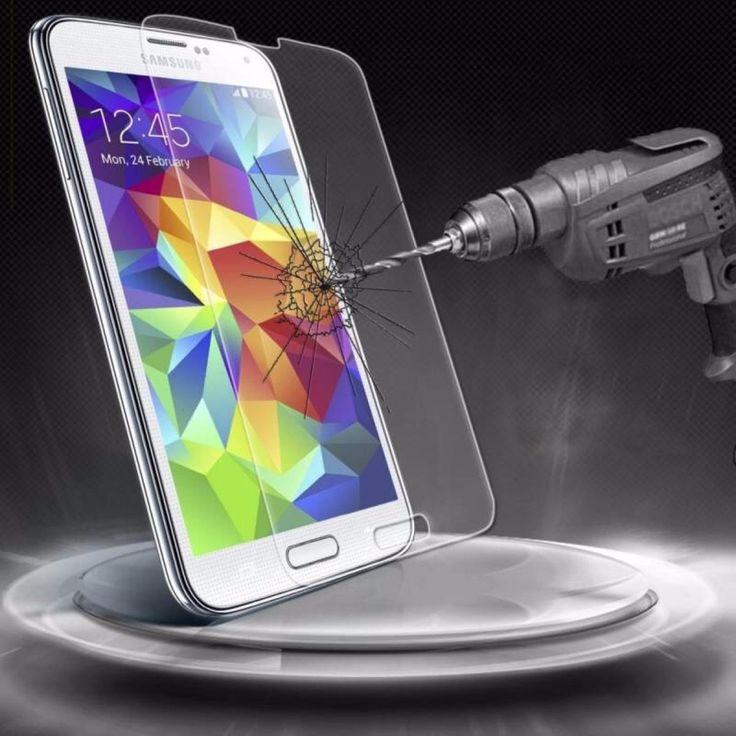 (49) Mica Cristal Templado Samsung Galaxy A3 Gorila Glass - $ 179.99 en MercadoLibre
