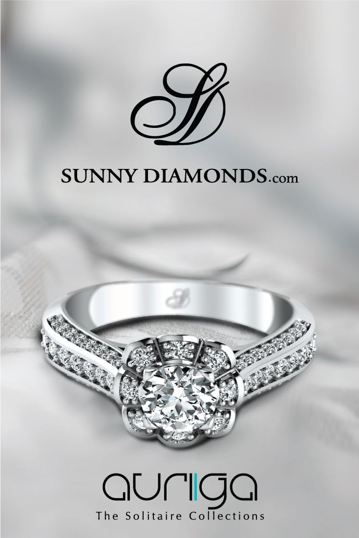 Auriga - Exclusive Solitaire Collection from Sunny Diamonds  #sunnydiamonds #internallyflawless #solitaire #weddingring #engagementring