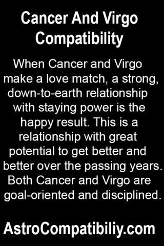 When Cancer and Virgo make a love match.... | AstroCompatibility.com