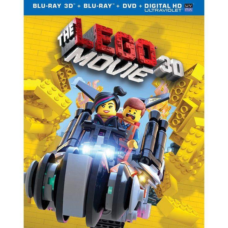 The Lego Movie [Includes Digital Copy] [UltraViolet] [3D] [Blu-ray/Dvd] [3 Discs]