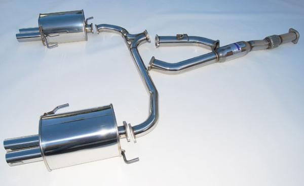 Invidia 2005-2006 Subaru Legacy GT Stainless Steel Q300 Quad Tip Cat-Back Exhaust System