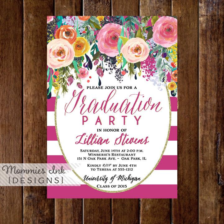 34 best Graduationopen house invitations images on Pinterest