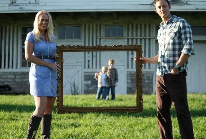 fun family frame pic