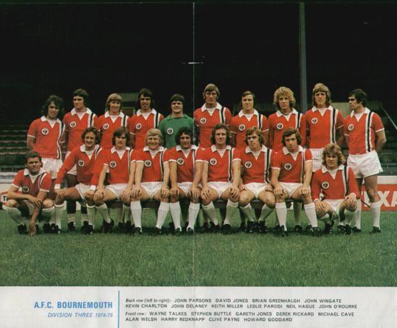 AFC Bournemouth - 1974/75