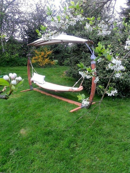 Backyard Hammock Design Pretty Backyard Hammock Garden Design Pinterest