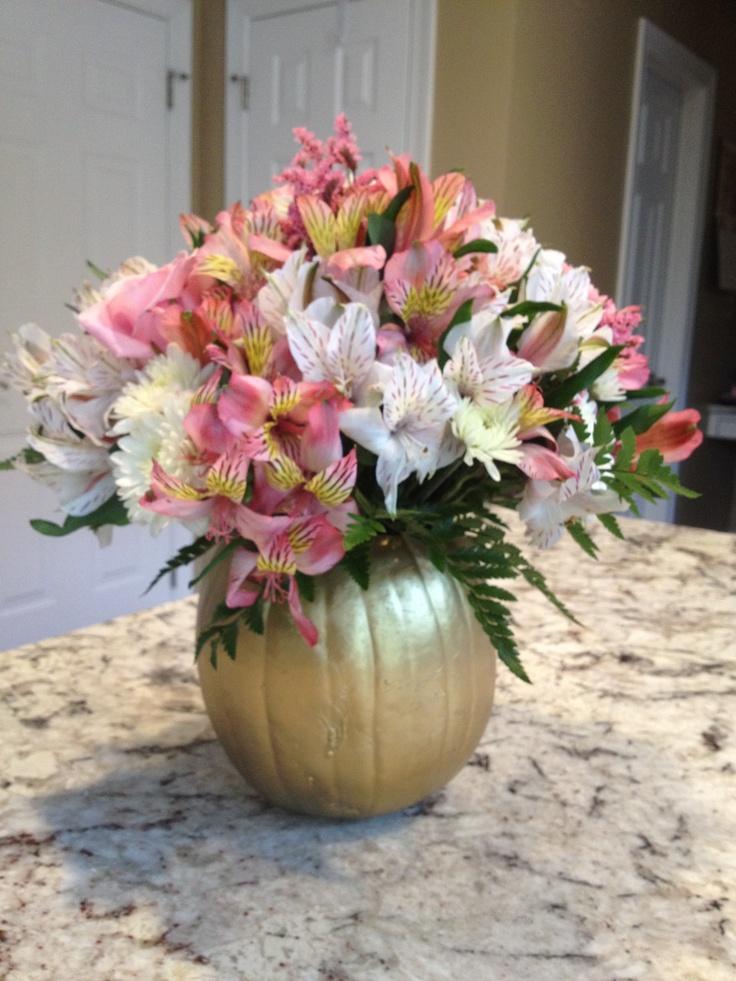 Fall Baby Shower ~ Flower Arrangement