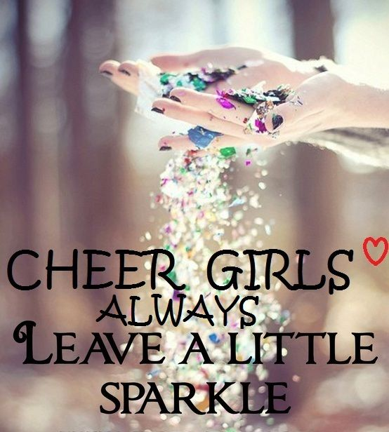 Seriously, I still have sparkles from 2 years ago from cheer.... AND IVE GRADUATED. #cheer