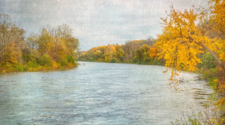 picture, Thames, Thames river, London, Ontario, Canada, river, fall, autumn, Garvin Hunter Photography, Landscape photography, fine art, artwork, wall art, home decor