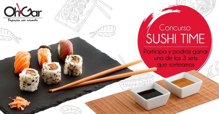 Sorteo de 3 sets de sushi de Tienda Ohgar #sorteo #concurso http://sorteosconcursos.es/2016/05/sorteo-de-3-sets-de-sushi/
