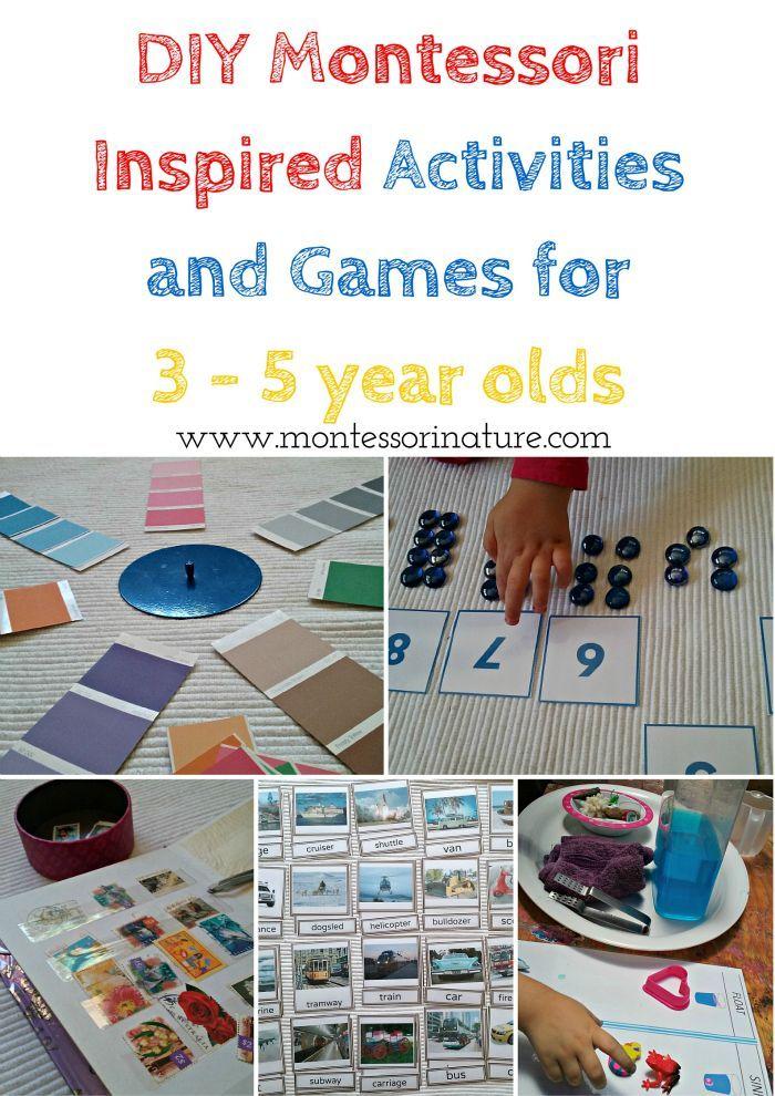 Montessori Nature DIY Montessori Inspired Activities and