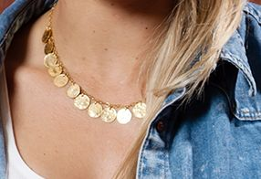 Necklace coins collection - Ana Dyla