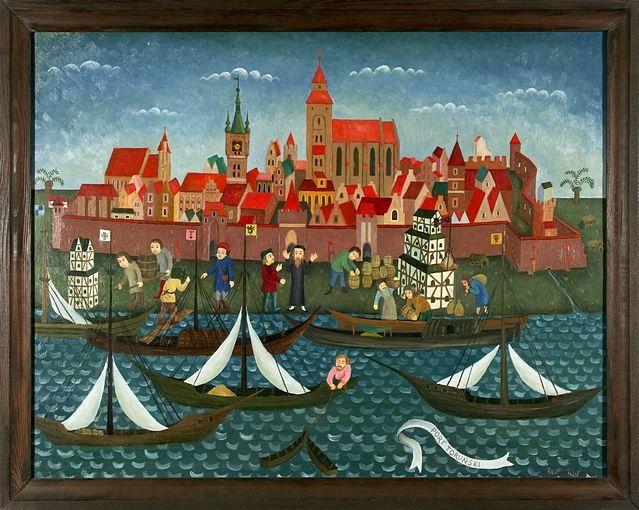 Port Toruński, W. Chrzanowski, 1987, fot. M. Kosicki