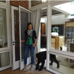 Vaste hordeur. Verkrijgbaar bij Deco Home Bos in Boxmeer. www.decohomebos.nl