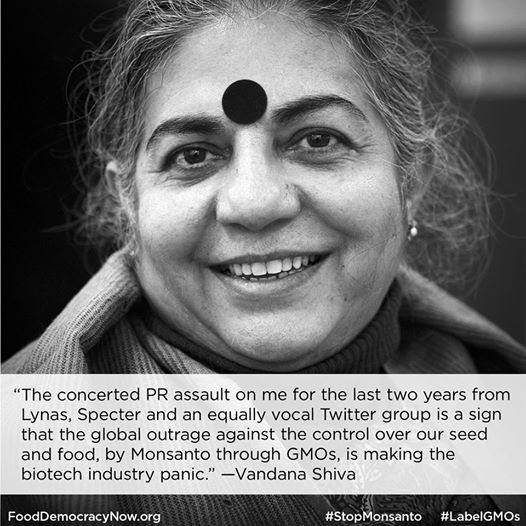 Seeds of Truth- A Response to the New Yorker from Vandana Shiva. Read here: http://www.fooddemocracynow.org/blog/2014/aug/26/seeds_of_truth_a_response_to_the_new_yorker #GMOs #seeds #BTCotton #India #stopmonsanto
