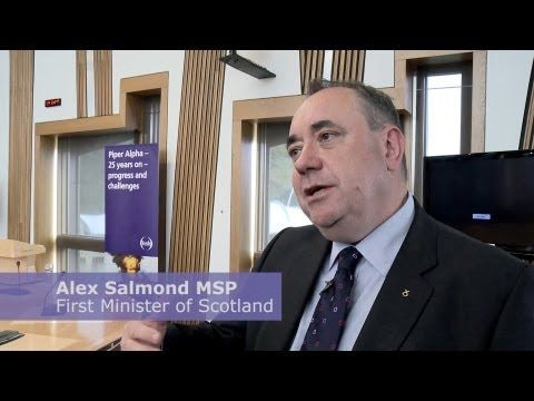 Piper Alpha - 25 years on: interview with Alex Salmond MSP