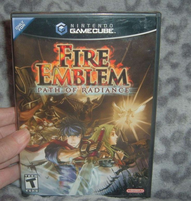 Fire Emblem: Path of Radiance (Nintendo GameCube, 2005) New Sealed: $99.00 (0 Bids) End Date: Saturday Dec-16-2017 12:56:22 PST Buy It Now…