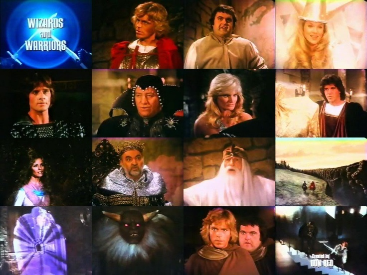 Wizards and warriors tv shows i miss pinterest for Wizards warriors