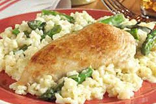 Chicken and Asparagus Risotto recipe