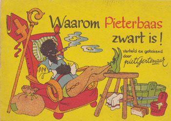 Waarom Pieterbaas zwart is