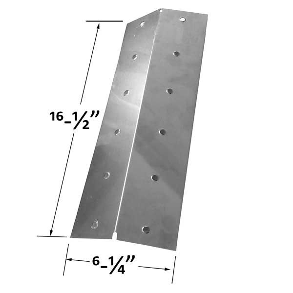 STAINLESS STEEL HEAT PLATE FOR COLEMAN 5100, 5110, 5300, 5310, 9990-132 GAS MODELS