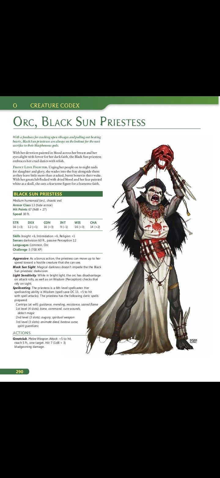 Pin by Chris W on Beastiary IP (DnD) in 2020 Dungeons