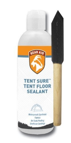 McNett Tent Sure floor sealant with foam brush, 8oz by McNett, http://www.amazon.com/dp/B00278BSU4/ref=cm_sw_r_pi_dp_MSeGrb0F594TB: Tents Accessories, Camps Tents, Camps Gears, Tents Seam, Mcnett Tents, Gears Aid, Floors Sealant, Aid Tents, Foam Brushes