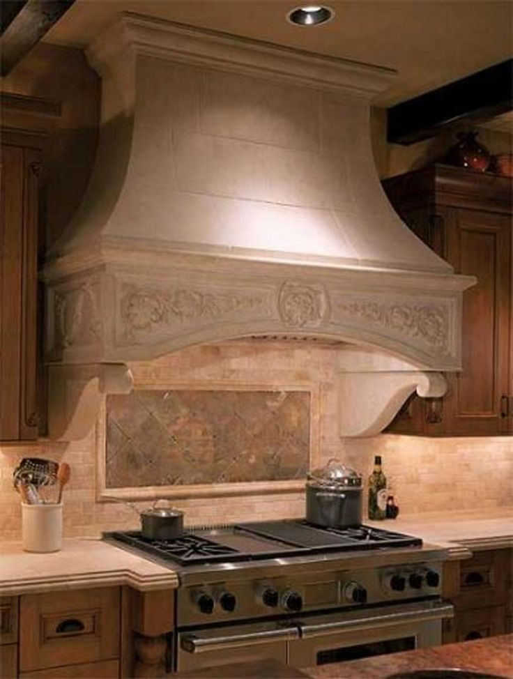 15 best images about range hoods on pinterest pewter for Vent hoods for kitchens