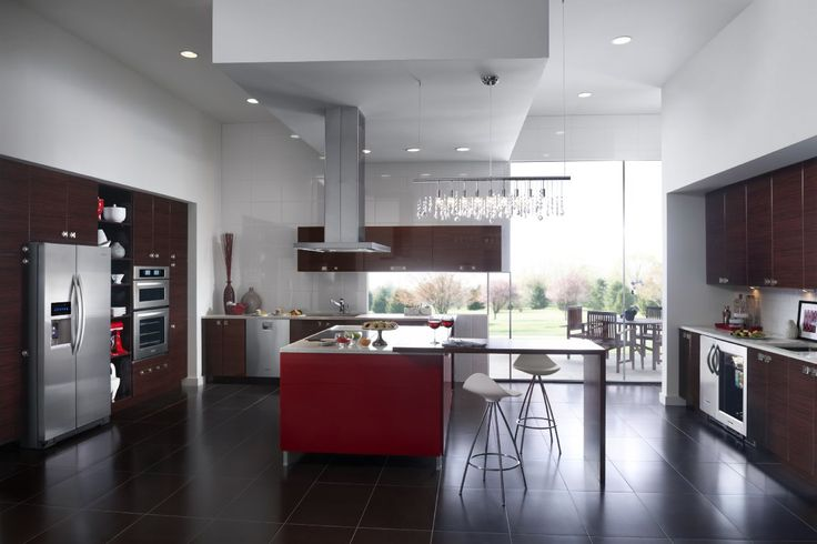 KitchenAid  Cooking Appliances  Specific Criteria: Energy Efficiency, Design/Style, Ease of Cleaning   KitchenAid® Modern American Kitchen Suite #kitchenaid