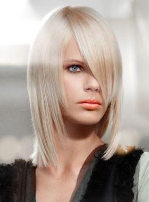 Taglio capelli medio lungo sfilati inverno 2014