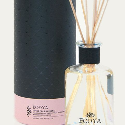 Close up of Ecoya Sweet Pea & Jasmine fragrance room diffuser - French Pear Gifts