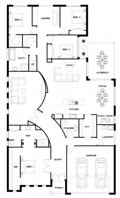 Floor plan - KingBuilt