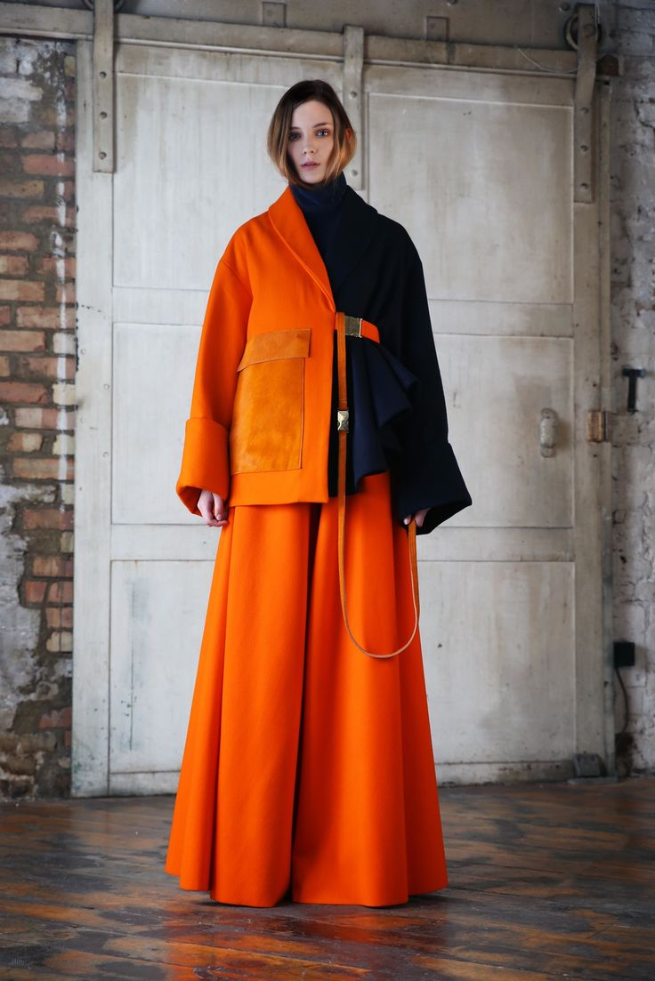 Graduate Collection - Joshconorread #fashion #orange