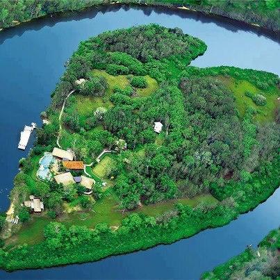 Heart Island Australia...