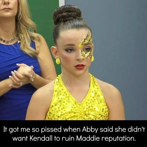 Dance moms confessions kendall 39 s my girl abby she 39 s - Dance moms confessions ...