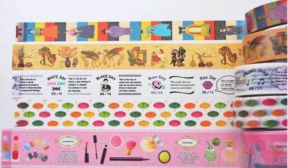 Hey, I found this really awesome Etsy listing at https://www.etsy.com/au/listing/496427366/mt-washi-tape-samples-100cm-for-each