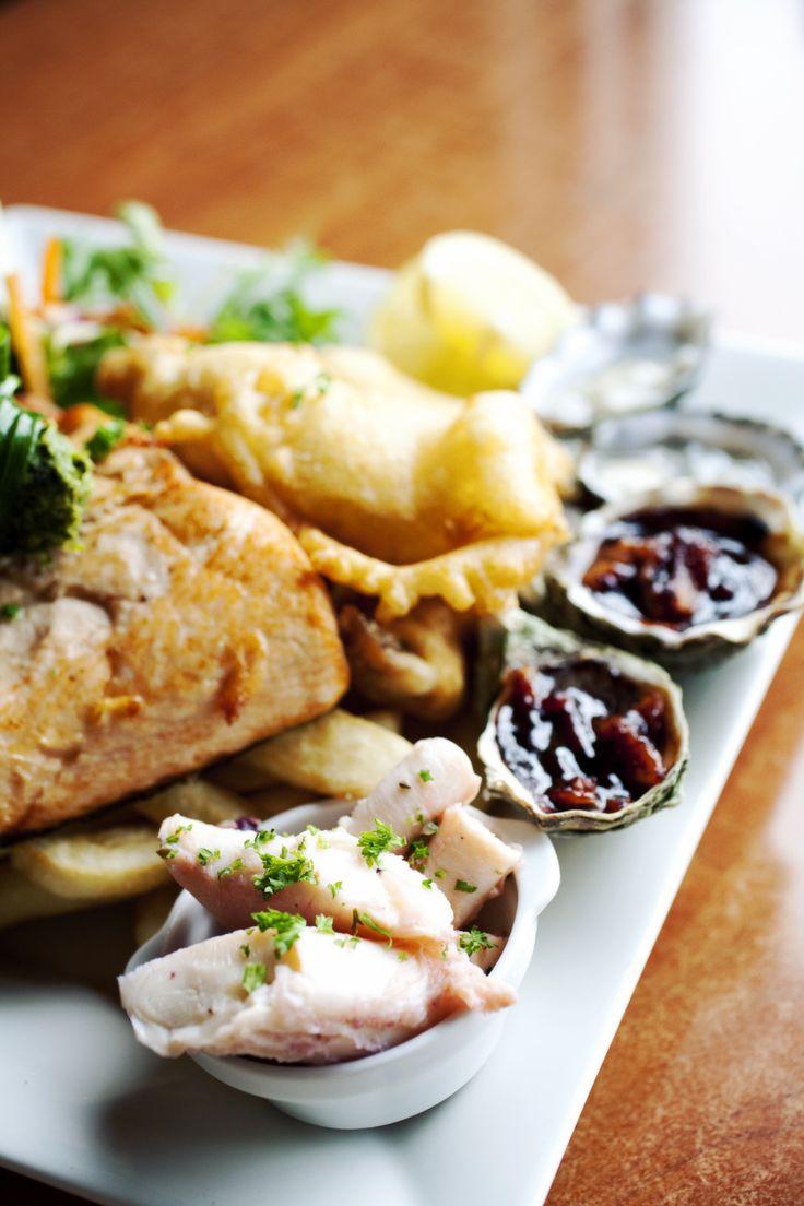 Hotel Bruny Seafood Platter