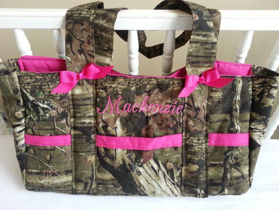 diaper bag baby bag mossy oak camo sale custom 6 pocket bag with name embroidered custom. Black Bedroom Furniture Sets. Home Design Ideas