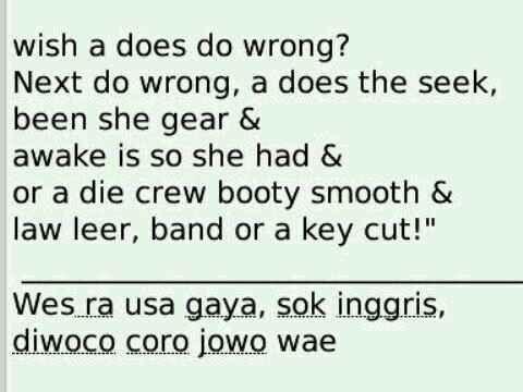 Caption Quotes Bahasa Jawa – fnmag
