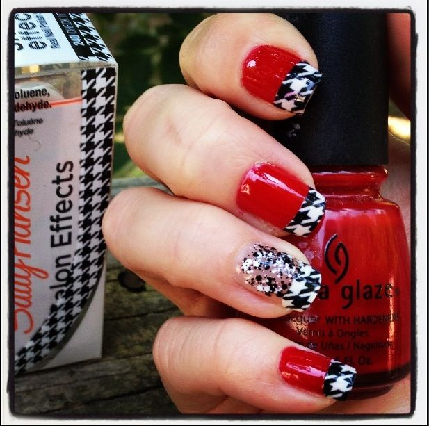 Alabama Nail Art. Roll Tide! - 9 Best Alabama Nail Art & Designs - University Of Alabama Nail