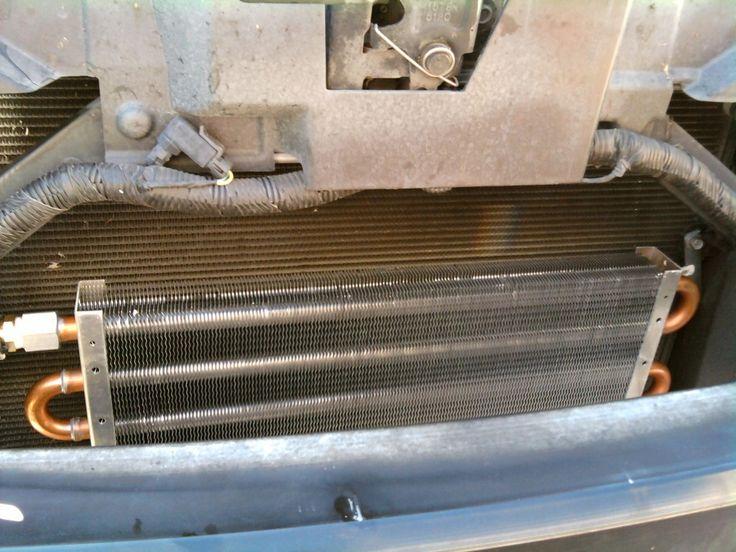 Cadillac STSV Intercooler Heat Exchanger install stage
