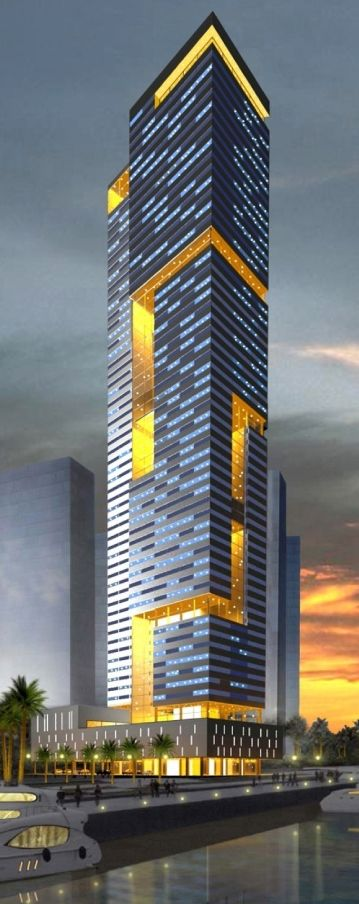 JW Marriott Manama, Bahrain by Yousif Daoud Al Sayegh Architects :: 50 floors