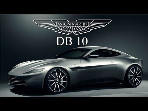 Presentation of the new new 2015 Aston Martin DB10 which will be used in the next James Bond 007- Spectre.