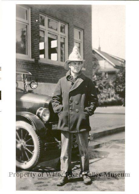 Hugh Leslie, Fire Chief circa 1927